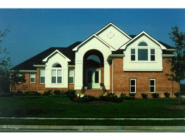 Luxury Home Plan Photo, 041H-0067