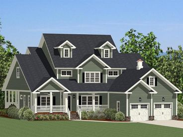 County Home Design, 067H-0036