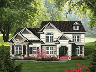 Two-Story Home Plan, 020H-0304