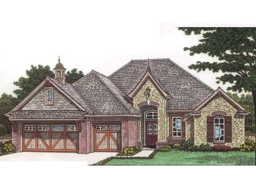 European Home Plan, 002H-0038