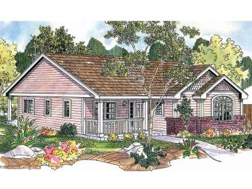 Small Home Design, 051H-0158