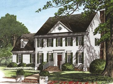 2-Story Colonial Home, 063H-0136