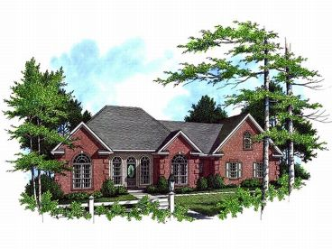Traditional House Plan, 001H-0088