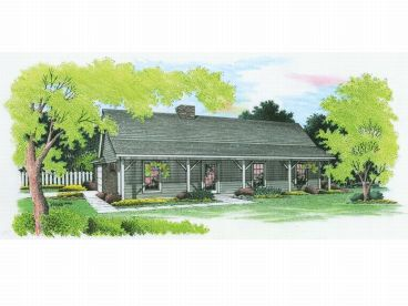 Country Home Plan, 021H-0022