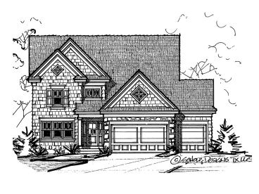 Two-Story House Plan, 031H-0279