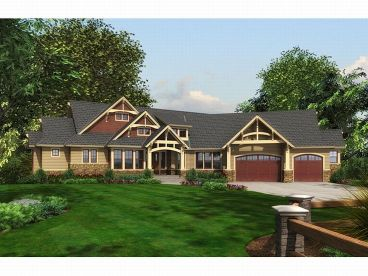 Luxury Ranch Home, 035H-0049
