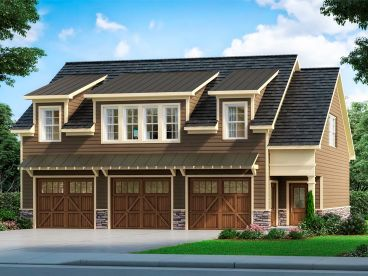 Carriage House Plan, 019G-0020