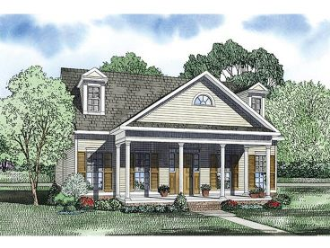 Southern Home Design, 025H-0238