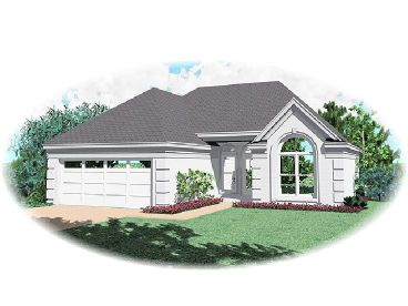 1-Story House Plan, 006H-0034
