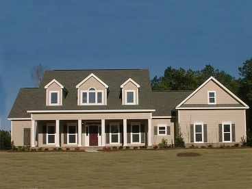 Country House Plan, 073H-0025