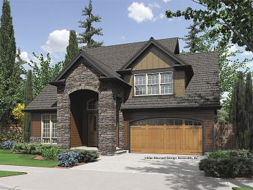 European House Plan, 034H-0183
