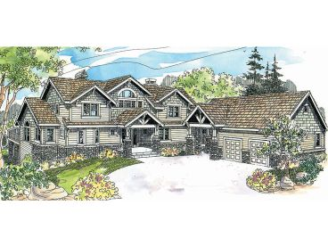 Luxury House Plan, 051H-0136