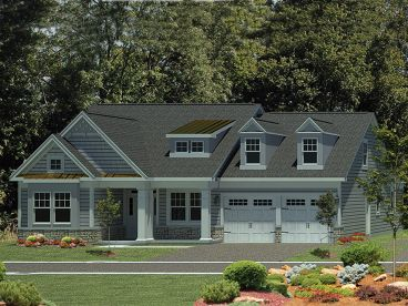 Empty-Nester House Plan, 014H-0093