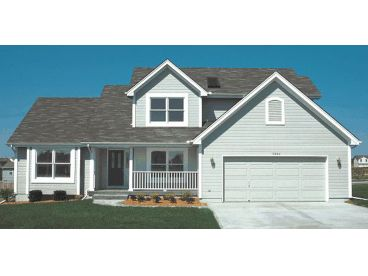 Traditional Home Plan, 031-0124