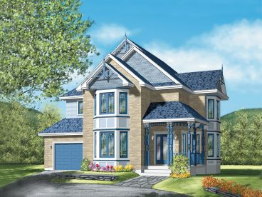 Victorian House Plan, 072H-0008