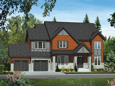 Northwest House Plan, 072H-0160