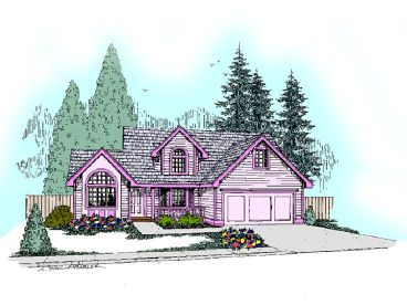 Traditional House Plan, 013H-0057
