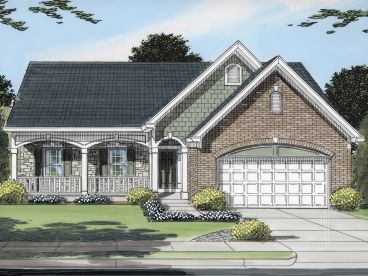 Empty-Nester Home Plan, 046H-0126
