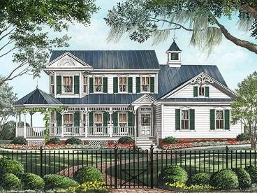 Country Victorian Home, 063H-0067