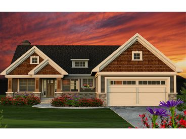 Craftsman Home Design, 020H-0374