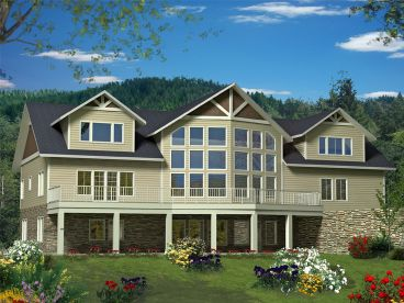 Northwest House Plan, 012H-0197