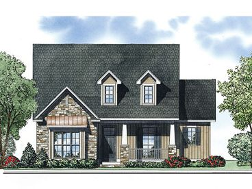 Narrow Lot House Plan, 025H-0249