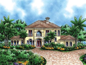 Luxury House Design, 037H-0114