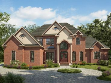 Luxury House Plan, 019H-0181