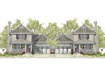 Multi-Family House Plan, 031M-0063
