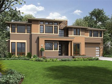 Luxury House Plan, 035H-0137