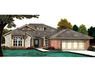 1-Story House Plan, 002H-0106