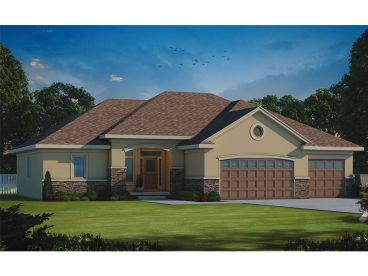 Sunbelt House Plan, 031H-0313