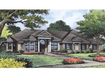 Sunbelt House Plan, 043H-0224