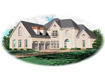 Luxury Home Design, 006H-0114