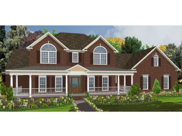 Two-Story House Plan, 073H-0026