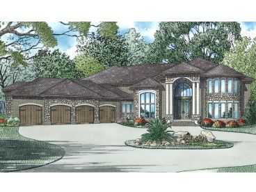 Premier Luxury House Plan, 025H-0329