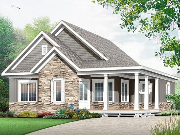 Country House Plan, 027H-0414