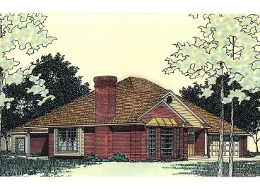 Ranch House Plan, 002H-0098