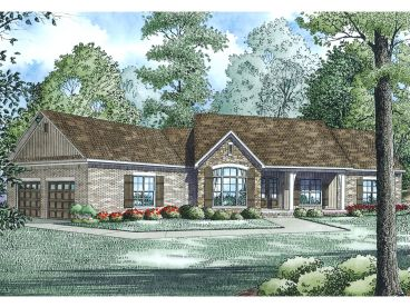 Ranch Home Design, 025H-0313