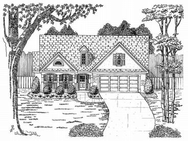 1-Story House Plan, 019H-0001
