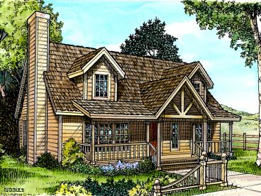 Country Home Plan, 008H-0011