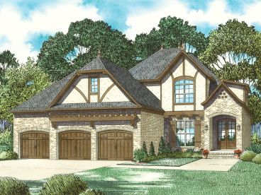 European House Plan, 025H-0341