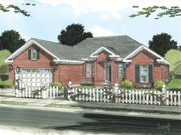 Affordable Home Plan, 059H-0110