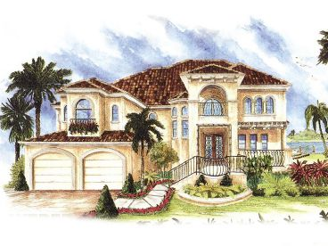 Mediterranean Home Plan, 037H-0025
