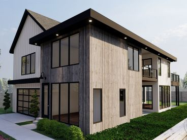 Contemporary House Plan, 050H-0341