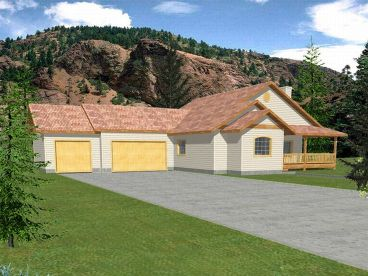 1-Story Home Plan, 012H-0045