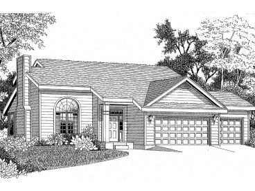 2-Story House Plan, 009H-0064