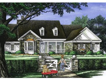 European House Plan, 063H-0072