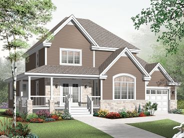 Two-Story House Design, 027H-0281