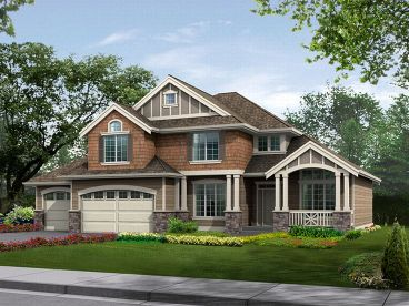 2-Story House Plan, 035H-0006